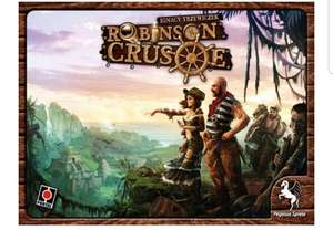 Kooperatives Überlebensspiel Robinson Crusoe
