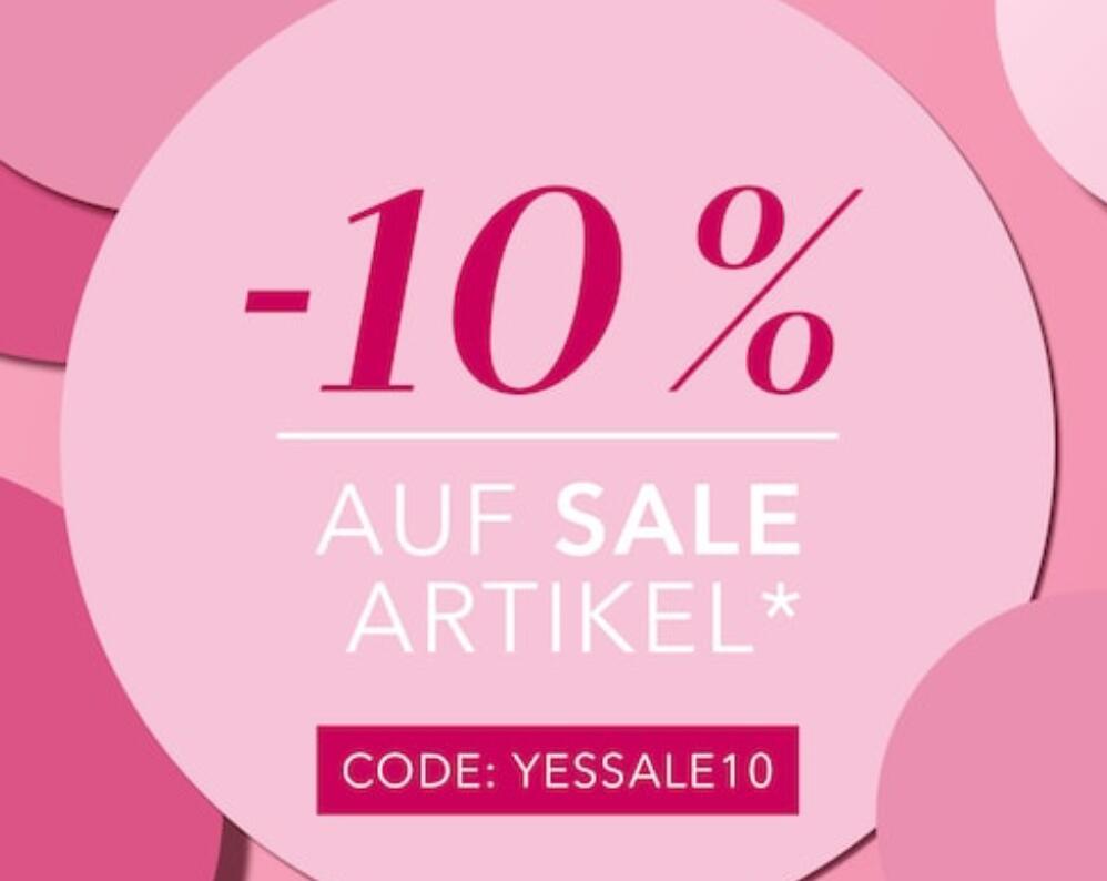 Douglas: zusätzlich 10% Rabatt auf Sale