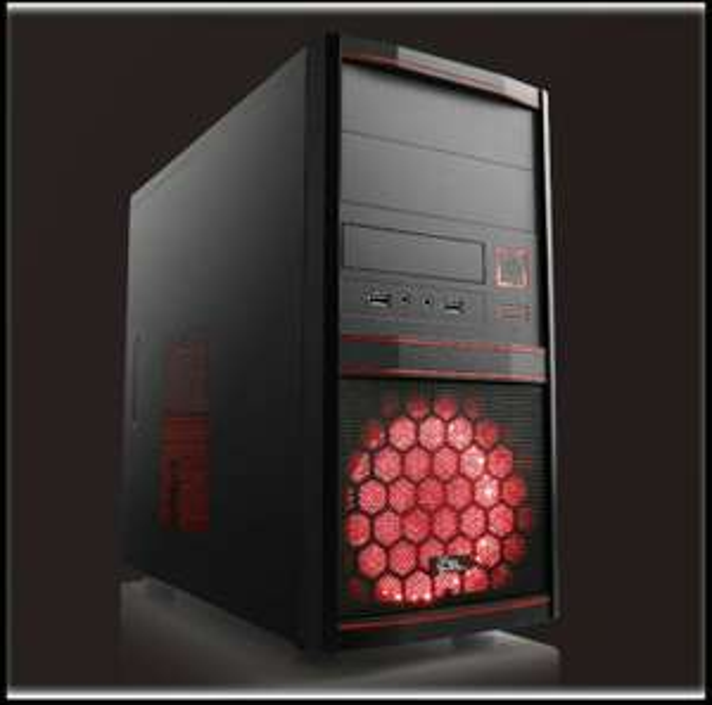 Low budget Gaming PC Ryzen 2300X, RX 570 8GB, 16GB DDR4-3000 CL15, A320M, 240GB m2 SSD, 500W, ohne Betriebssystem