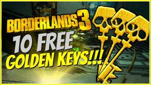 10+ Free Golden Keys für Borderlands 3 (Alle Systeme)