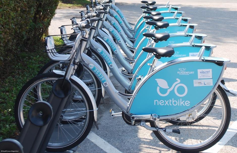 Klagenfurt: NextBike Fahrräder GRATIS ausleihen (30 Minuten) - bis 22.9.2020