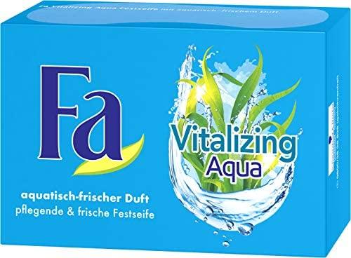 @Amazon - 4 Stück - FA Festseife Refreshing Lemon mit zitrus-frischem Duft oder Aqua mit frischem Duft (4 x 100 g) (je 0,24€)