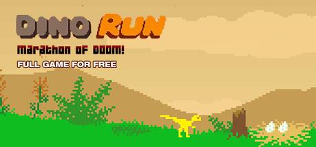 """""""Dino Run: Marathon of Doom"""" (Windows/Mac PC) gratis auf IndieGala -So Retro, daß sogar Dinosaurier mitspielen-"""