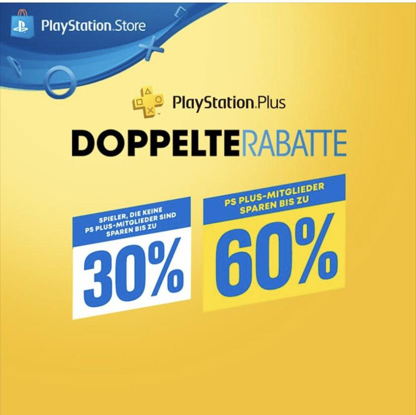 Ps Store bis 60% für ps plus Mitglieder