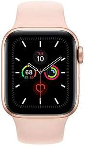 Apple Watch Series 5 40mm Gold Aluminium mit sandrosa Sportarmband (auch andere Farben) // Apple Watch Series 5 44mm black 379€ mit Versand
