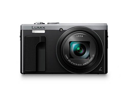 Panasonic DMC-TZ80EG-S Kompaktkamera - 18,1 MP MOS-Sensor, 30x optischer Zoom, 4K