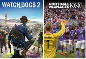 Football Manager 2020 (Windows/Mac PC) und Watch Dogs 2 (Windows PC) jetzt gratis im Epic Store