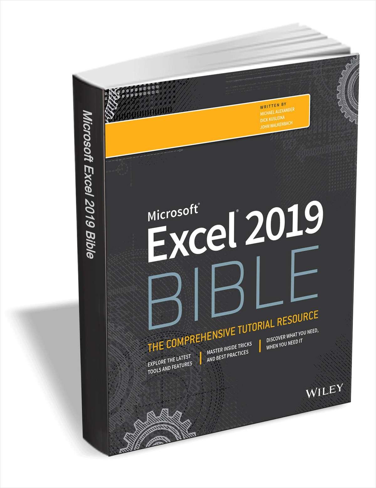[TheHackerNews] Excel 2019 Bible kostenlos