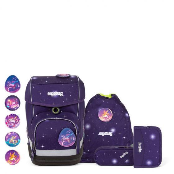 Preisjäger Junior: Ergobag Cubo Galaxy FeenzauBär Glow Schultaschen-Set, 5-teilig