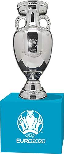 [STÜCKFEHLER] 50x UEFA Euro 2020 Trophy Replica (70 mm) auf Wooden Pedal