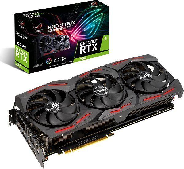 ASUS Grafikkarte ROG Strix GeForce RTX 2060 SUPER Evo Advanced 8GB