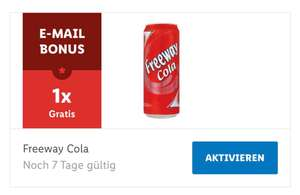 [Lidl Plus Newsletter] Gratis Freeway Cola Dose 0,33l