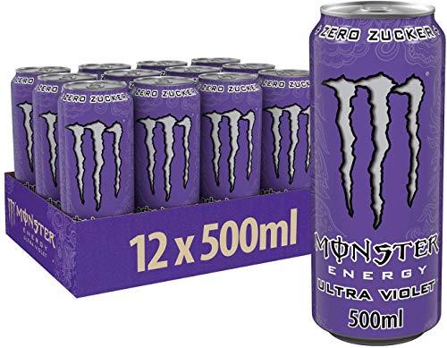 Monster Energy Ultra Violet (12 x 500 ml)