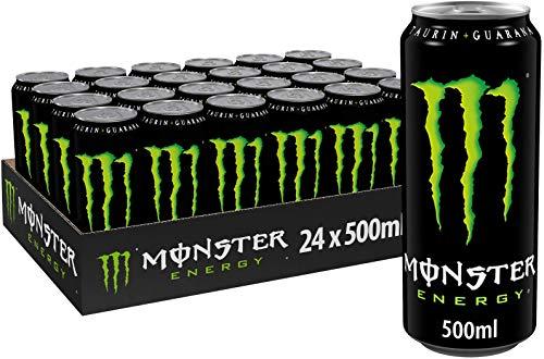 Monster Energy mit klassischem Monster-Geschmack