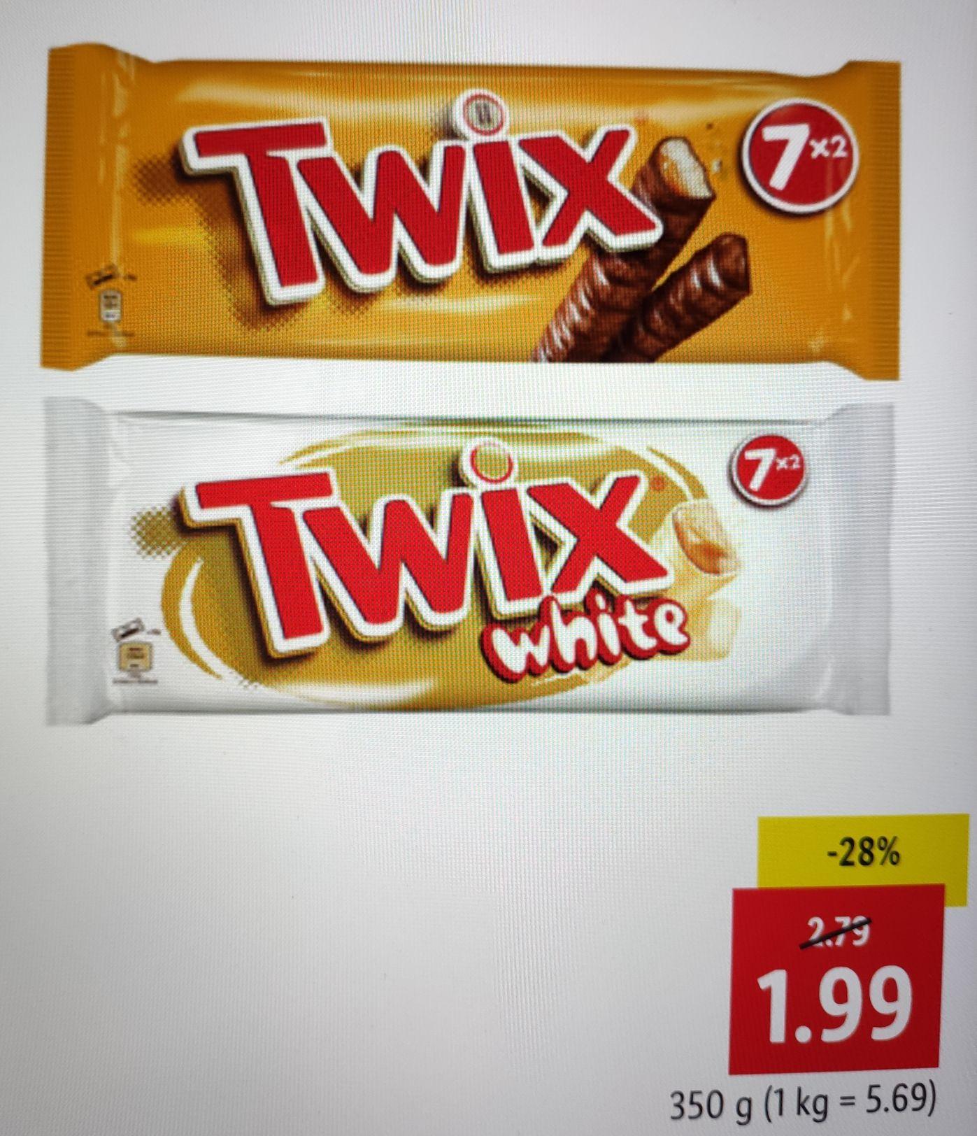 Twix (7x50g) bei LIDL - FETTER PREISJÄGER
