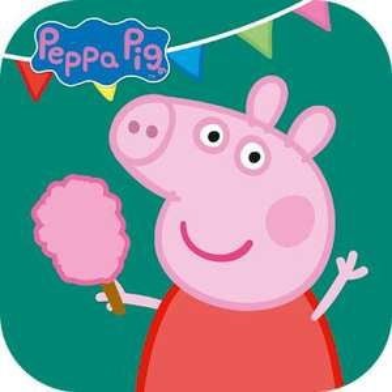 """Versautes für (Android und iOS) """"Peppa: Spaß im Freizeitpark"""" gratis im Google PlayStore oder Apple AppStore Werbungslos / keine InApp-Käufe"""