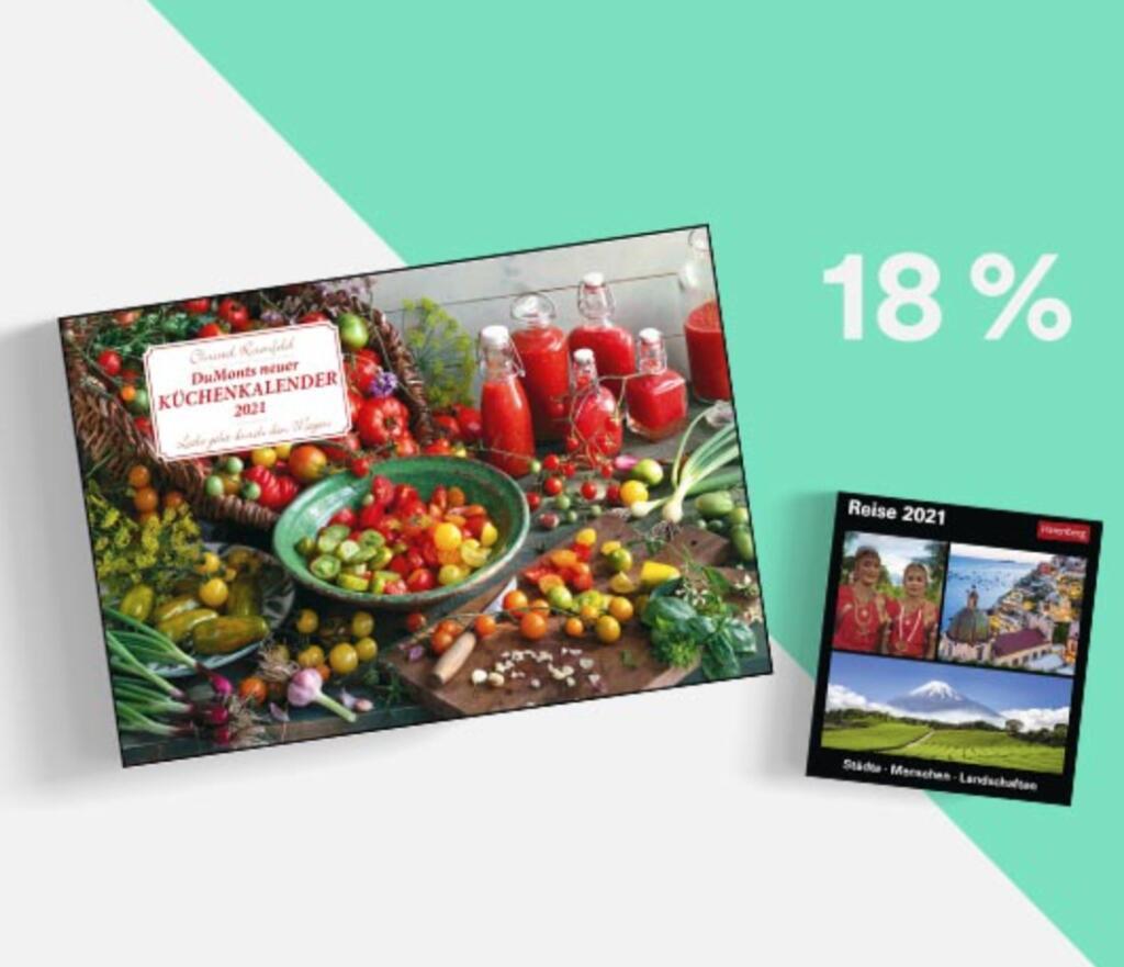 Thalia: 18% Rabatt auf alle Kalender 2021