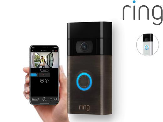 Ring Video-Türklingel 2. Generation und mit Gegensprechanlage | 1080 HD