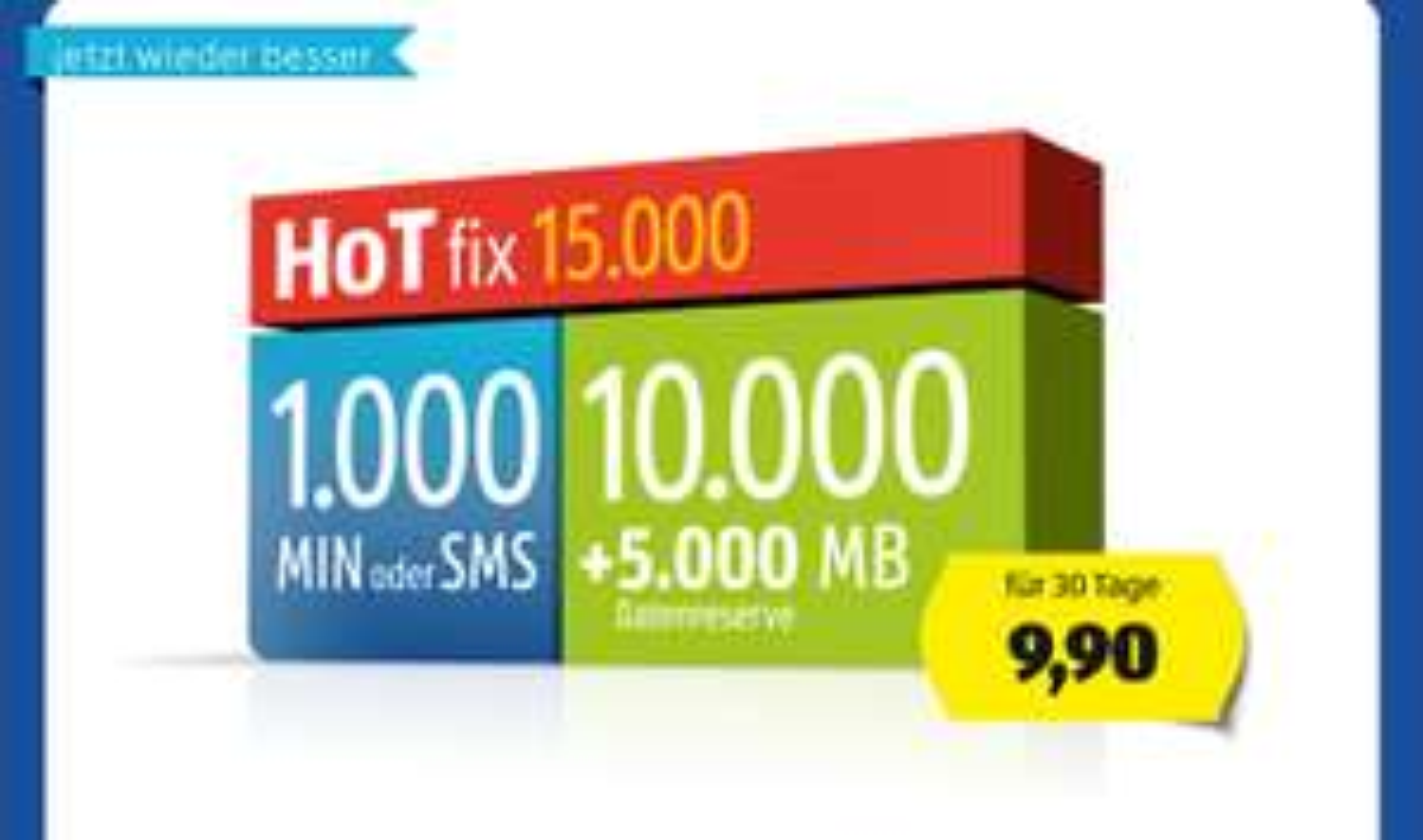 HoT fix jetzt mit 2 GB mehr (insgesamt 15 GB)