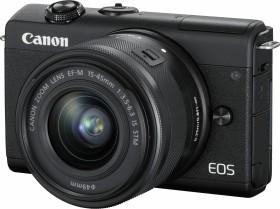 Canon EOS M200 schwarz mit Objektiv EF-M 15-45mm