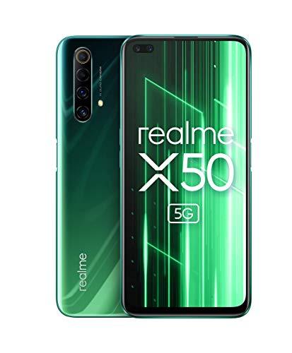Amazon ES I Realme X50 5G 128GB/6GB 120HZ Snapdragon 765G jungle green