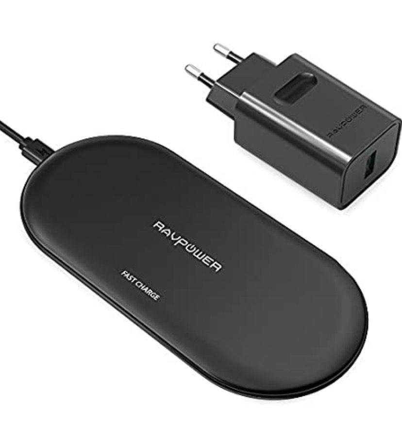 Wireless Charger, RAVPower 10W Fast Wireless Ladegerät bei Amazon