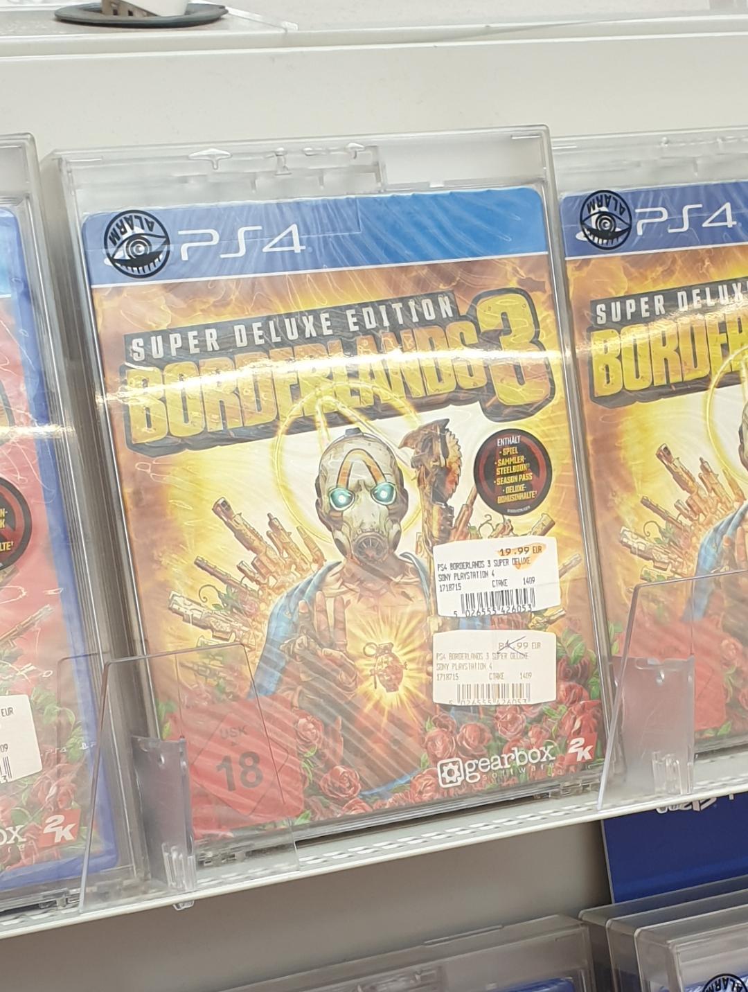 (lokal - Media Markt Innsbruck) - Borderlands 3 Super Deluxe Edition PS4 für 19,99