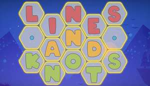 Puzzle - LINES AND KNOTS (PC) gratis auf Steam + alle 3 Levelpacks [Dealanleitung folgen !]