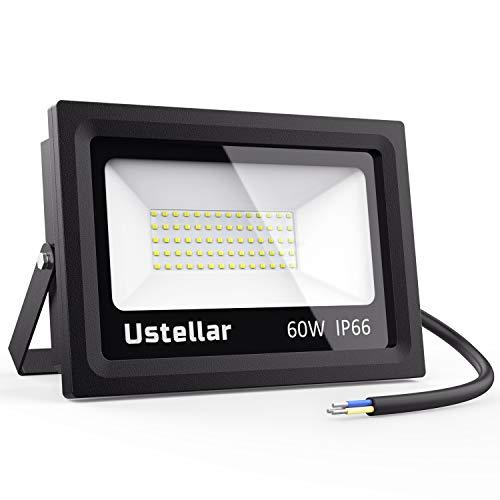 Ustellar LED Außenstrahler, 4800lm, 60W, Tageslichtweiß