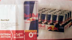 Red Bull bei Billa inkl. Editions