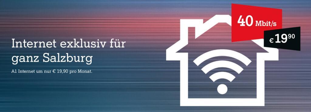 A1 Festnetz Internetangebote in Salzburg
