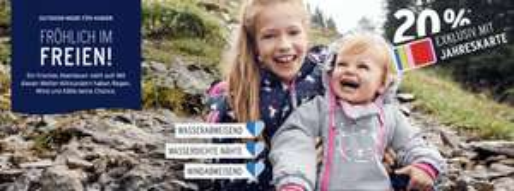 Ernstings Family: 2 Mottos - gleicher Rabatt - 20% Rabatt für Bonuscard Mitglieder