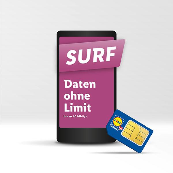 [Lidl Connect] Surf Daten ohne Limit 80Mbit/s statt 40Mbit/s um 19,50€ // Router TP Link MR100 + 30 Tage Traif Surf um 49,90€ statt 95,89€