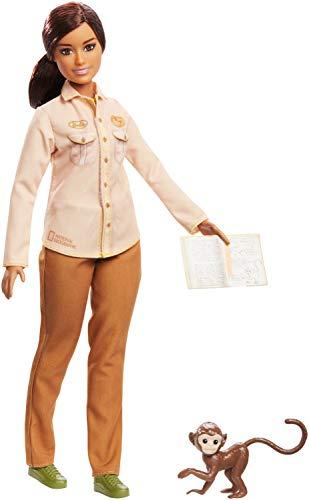 Barbie GDM48 - National Geographic Umweltschützerin Berufe Puppe