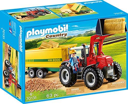 Playmobil Country 70131 Riesentraktor mit Anhänger und Zubehör , Ab 4 Jahren