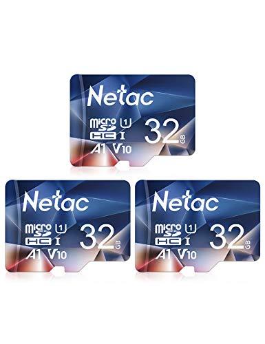 Netac 3er-Pack 32GB Micro SD Speicherkarte im Blitz-Angebot