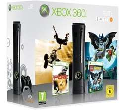 Hammer: XBox 360 Elite 120GB Holiday Bundle für 152€ oder mit Splinter Cell: Conviction für 155€ bei Amazon