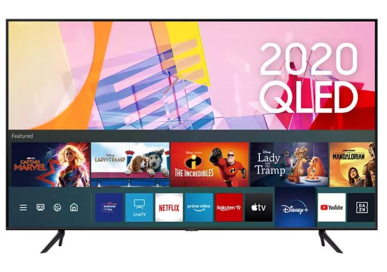 """Samsung 85"""" QLED 4K TV GQ85Q60T (zusätzlich 300€ Cashback möglich!)"""