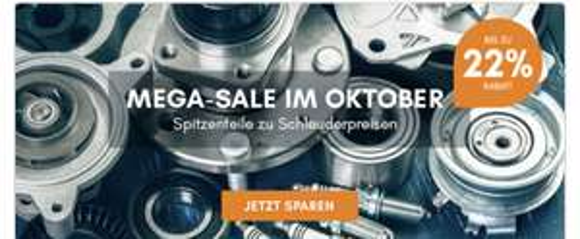 -22% bei Kfzteile.de