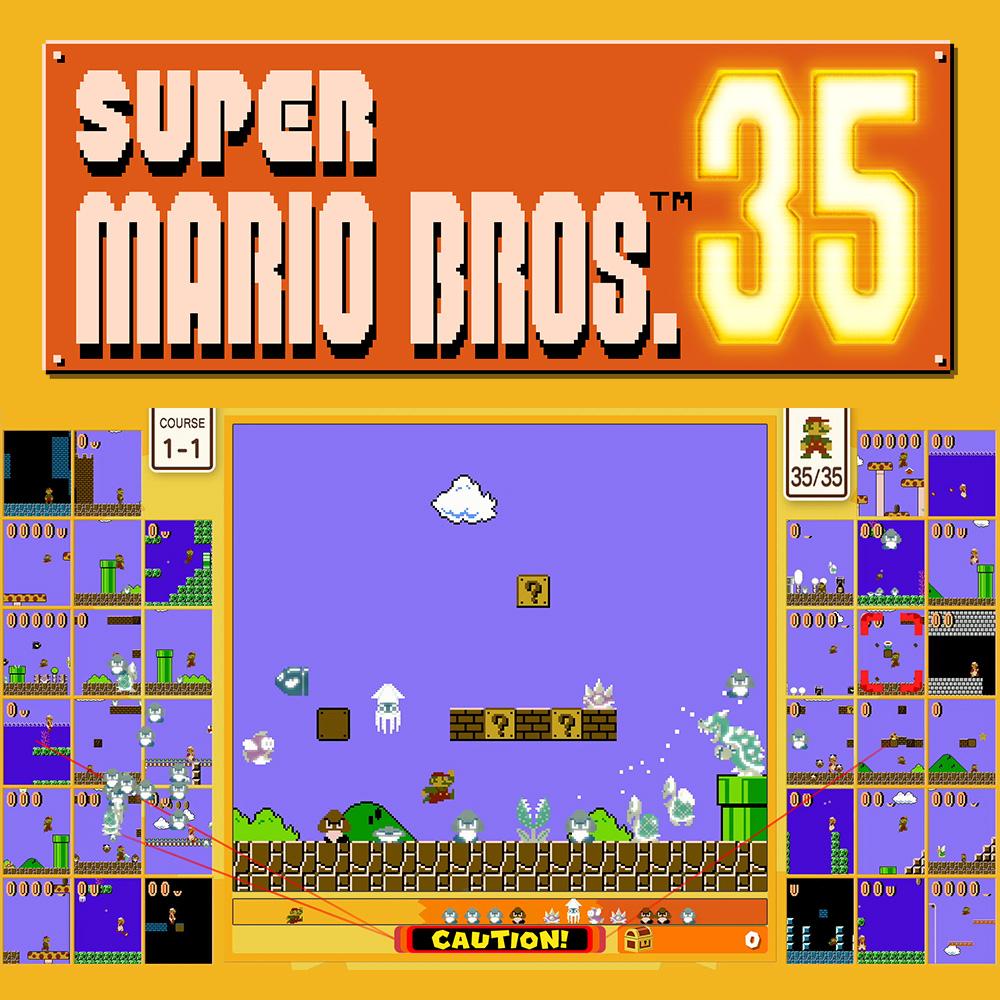 Super Mario Bros. 35 gratis - (Nintendo Switch Online erforderlich)