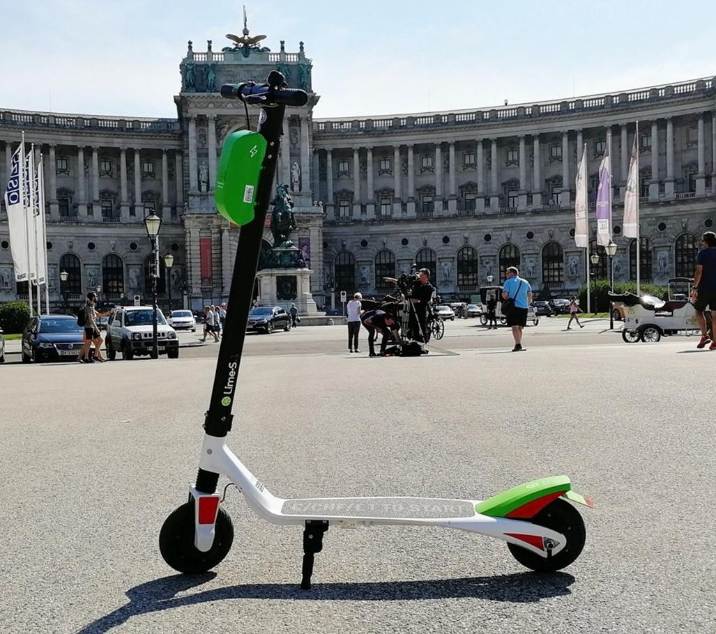 [lokal Wien] Lime E-Scooter 2x 15 Minuten kostenlos am 11.10.2020