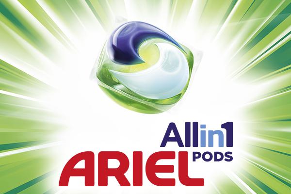 Ariel All in 1 Geld Zurück Gratis testen Zugabe :)