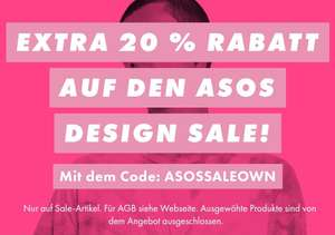 ASOS -20% auf Sale Artikel