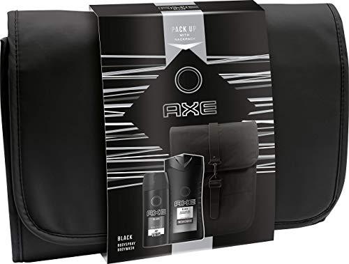 Axe Geschenkset Black mit exklusivem Rucksack