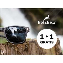 Holzkitz Sonnenbrille aus Holz 1+1 gratis