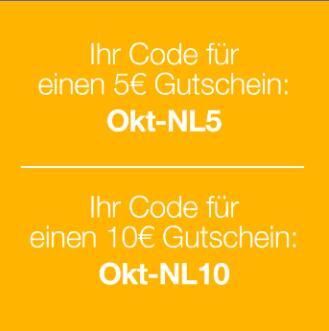 Dreiland 5€ & 10€ Gutschein Oktober