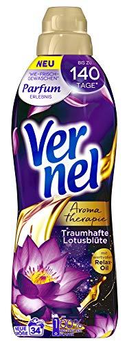 "3x Vernel ""Aromatherapie Traumhafte Lotusblüte"" Weichspüler"