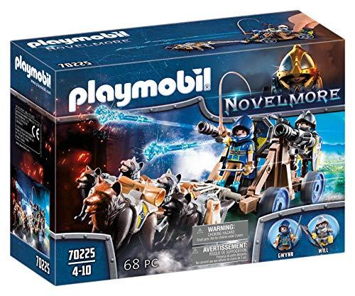 """Preisjäger Junior: Playmobil Novelmore """"Wolfsgespann und Wasserkanone"""""""