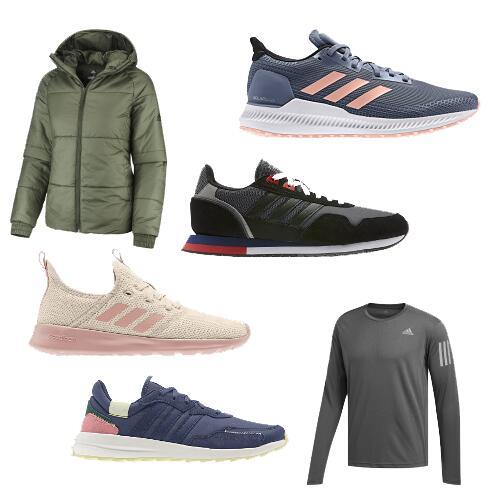 Hervis: Adidas Schuh & Kleidung Sammelsurium (Weibchen & Männchen)
