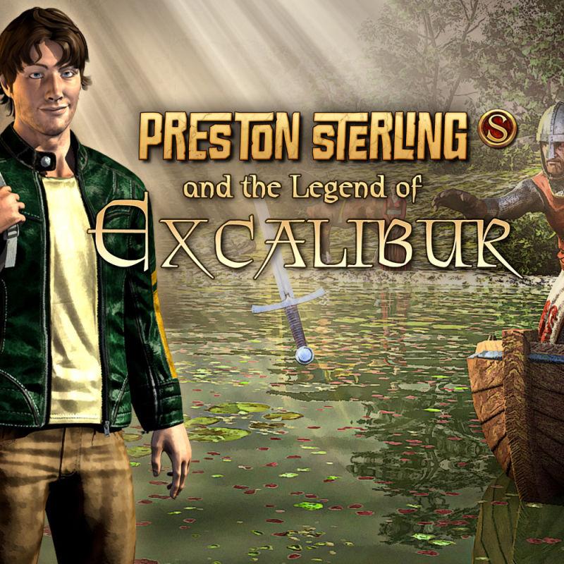 Preston Sterling und die Legende von Excalibur (Android/iOS) gratis im jeweiligen AppStore -ohne Werbung / ohne InApp-Käufe- (DE/EN/RU)